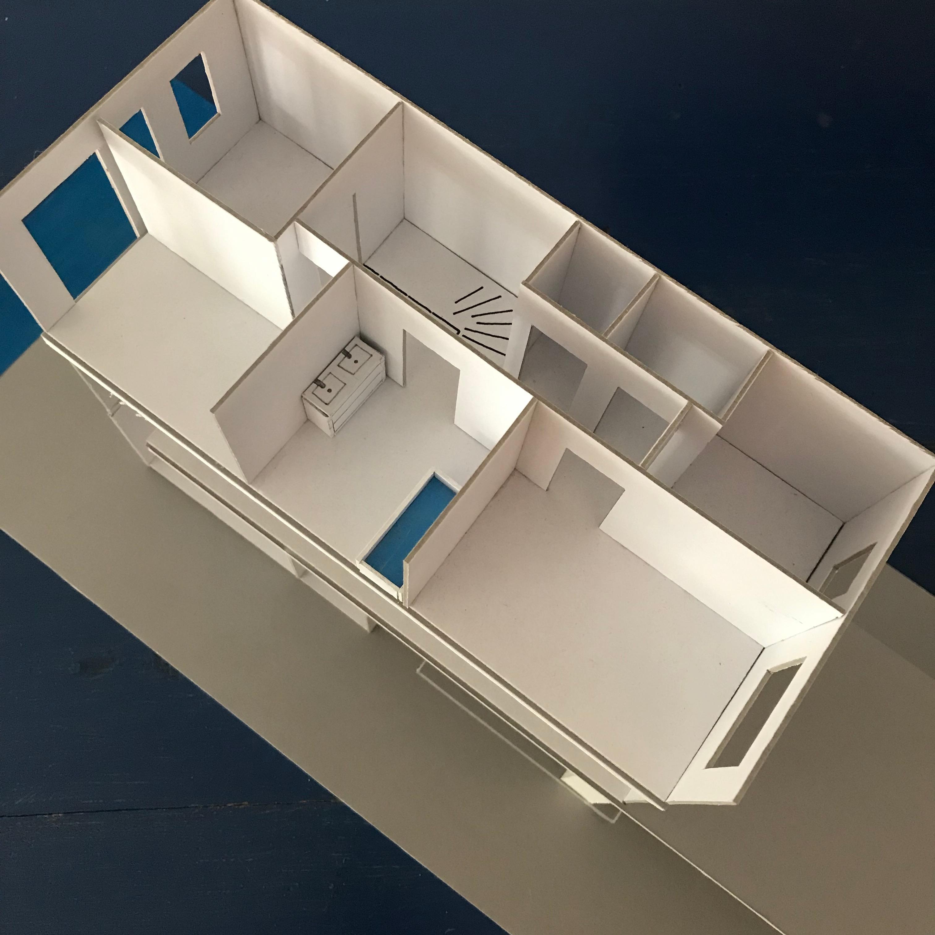 Maquette nieuwbouw nieuwbouwwoning nieuwbouwhuis Defensie-eiland Midden Woerden